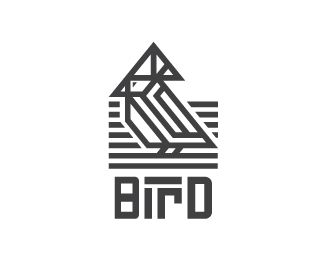 Bird Logo Mark And Logo Type Concept Exploration I