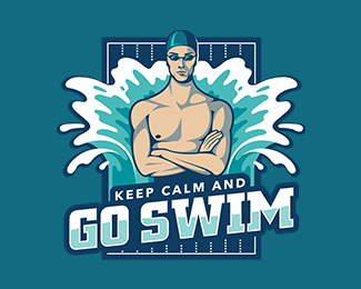 Keep Calm and Go Swim