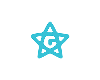 HR Logo Proposal 2 - Letter G + Star