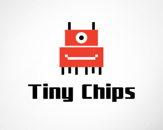 Tiny Chips Logo Template