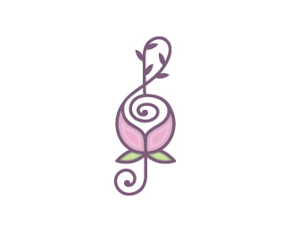 Music Note Flower