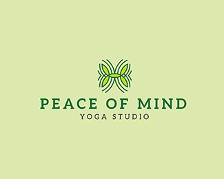 Peace of Mind Logo Template