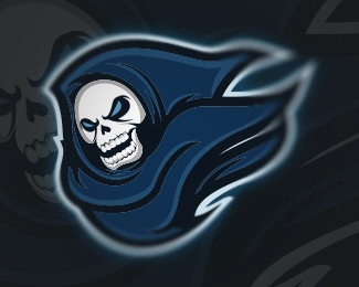 Dashing Phantom Mascot Logo Design