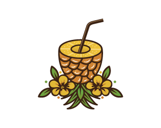Pineapple Juice Logo