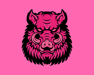 Hog Boar Esport Gaming Logo