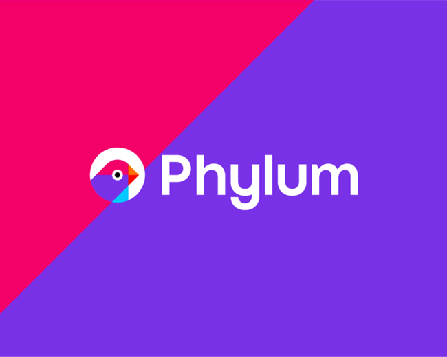 Phylum, software development security logo design