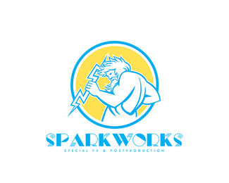 Sparkworks Special Fx and Post Production Logo