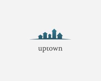 Logopond Logo Brand Identity Inspiration Uptown