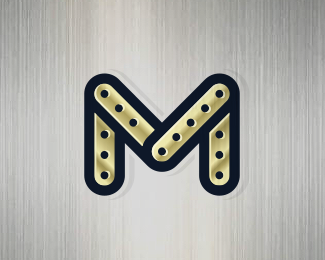 Mechanic Letter M Logo (for sale)