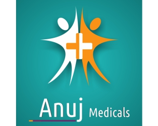 Anuj logo design by softyougsolutions