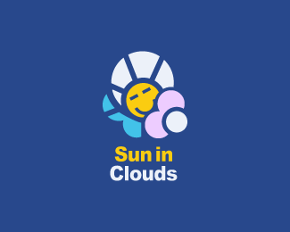 Sun in clouds