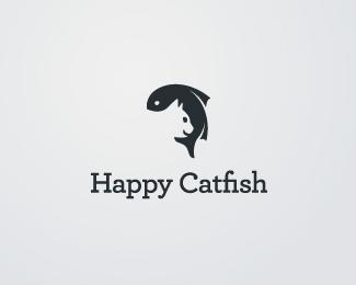 Logopond Logo Brand Amp Identity Inspiration Happy Catfish