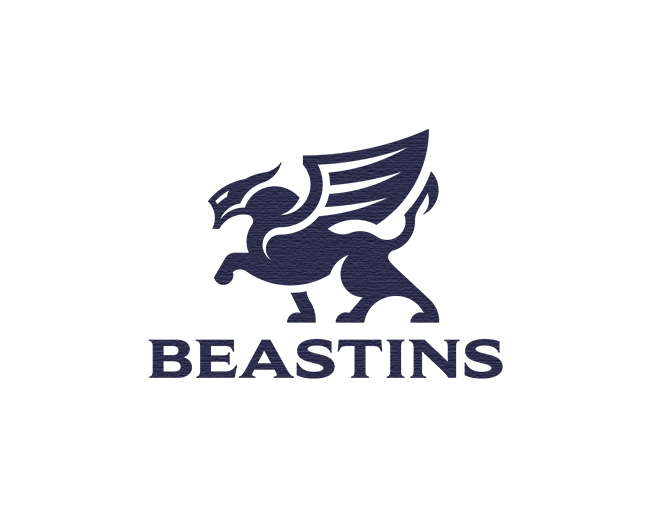 The winged beast logo