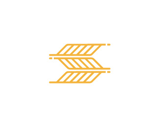 Letter S Wheat