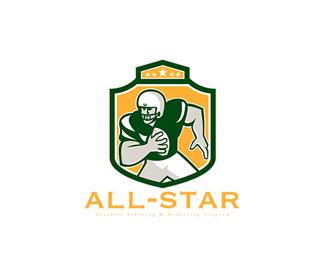 All-Star Football Training Logo