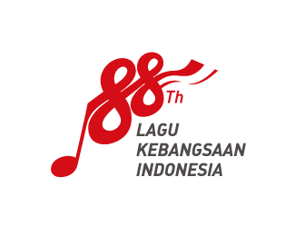 The 88th National anthem of Indonesia