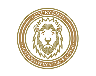 luxurious Lion Logo