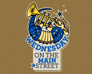 Wednesday on the Main Street