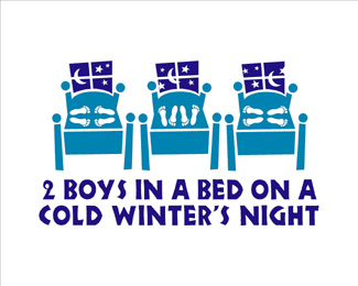 2 Boys in a Bed on a Cold Winter's Night