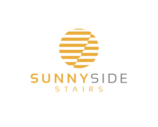 Sunny side stairs