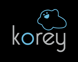 Korey Design (Black/Blue)