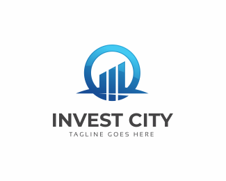 Invest City Logo Template