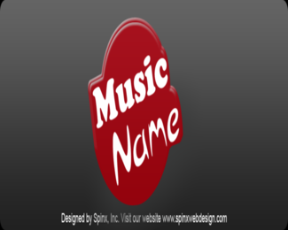 Get magnificent logo for your music shop website