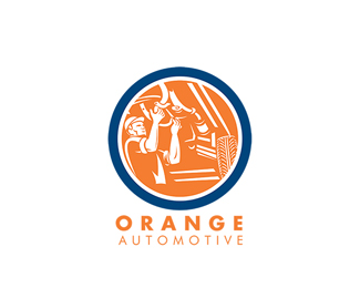 Orange Automotive Logo
