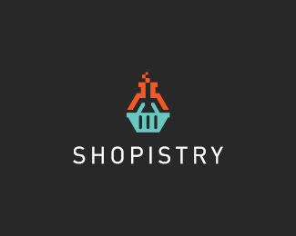 Logo design inspiration #25 - Denis Wong - Shopistry