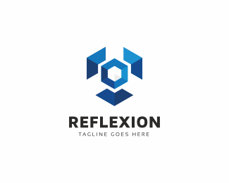 Reflexion Hexagon Logo