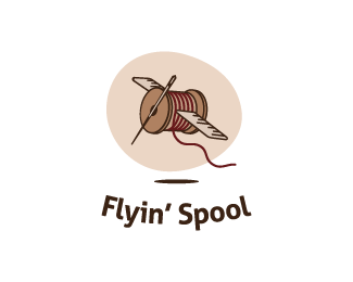 Flying' spool