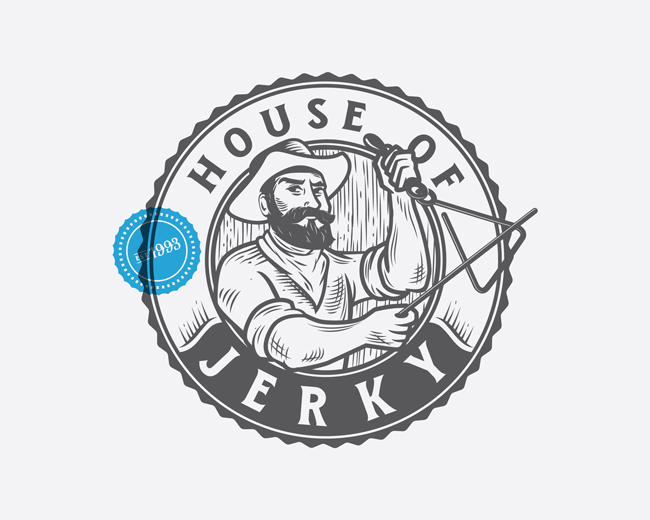 House of Jerky - Logo Refresh