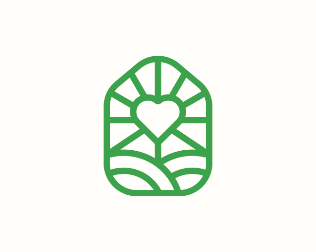 House Farm Heart Logo