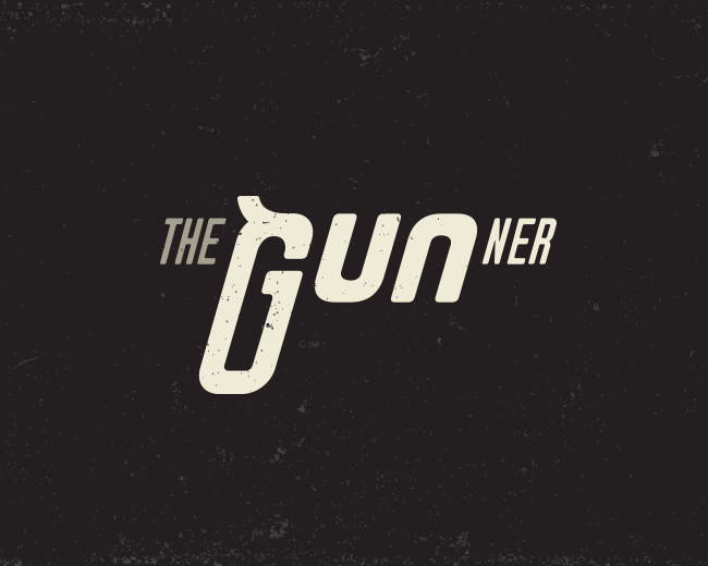 The Gunner Typography logo