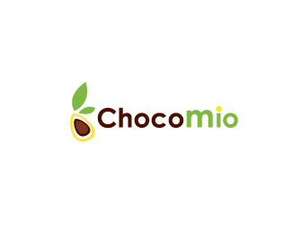Chocolate store logo
