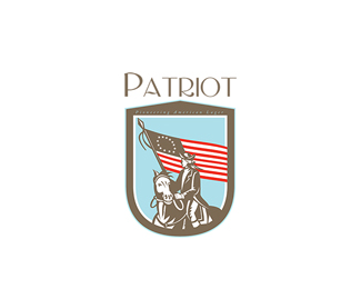 Patriot Pioneering American Lager Logo