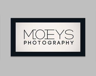 Moeys Photography Logo Redesign V.4