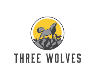 Three wolves