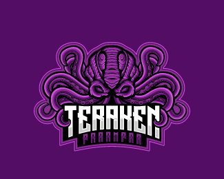 Krakens Esport Gaming Logo