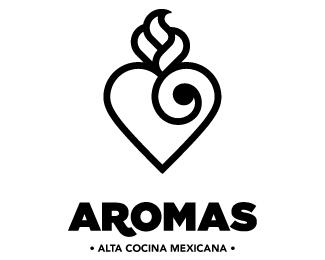 Logopond logo brand identity inspiration aromas for Alta cocina mexicana