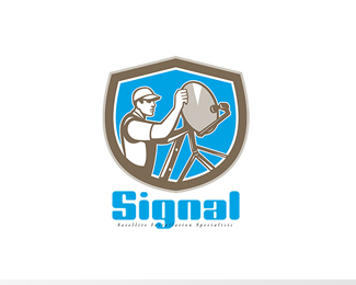 Signal Satellite Installation Logo