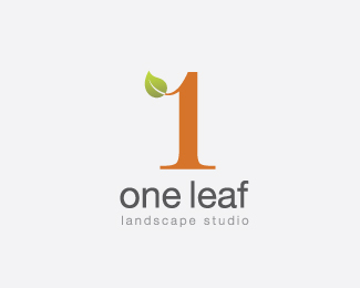 One leaf II