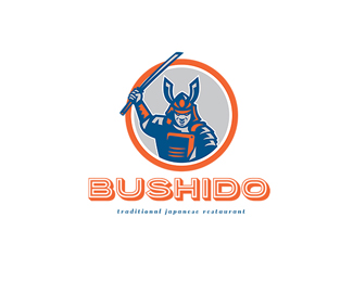 Bushido Traditional Japanese Restaurant Logo
