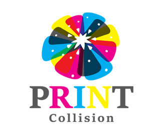 Print Collision Color Printing Logos for Sale