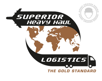 SUPERIOR Heavy Haul Logistics | Logo Design