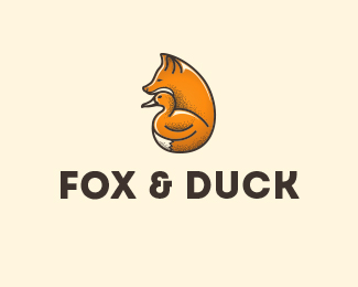 Logo design for Fox and Duck