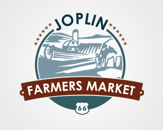 Official Joplin Farmers Market Logo
