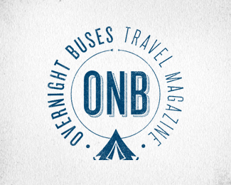 Overnight Buses Tent Stamp