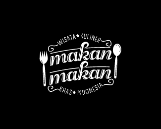 Logopond Logo Brand Identity Inspiration Makan Makan