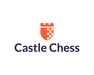 Castle Chess Logo Design